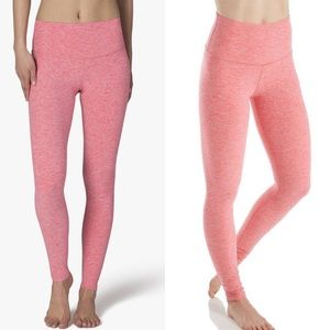 Beyond Yoga Spacedye High Waist Leggings Hot Pink